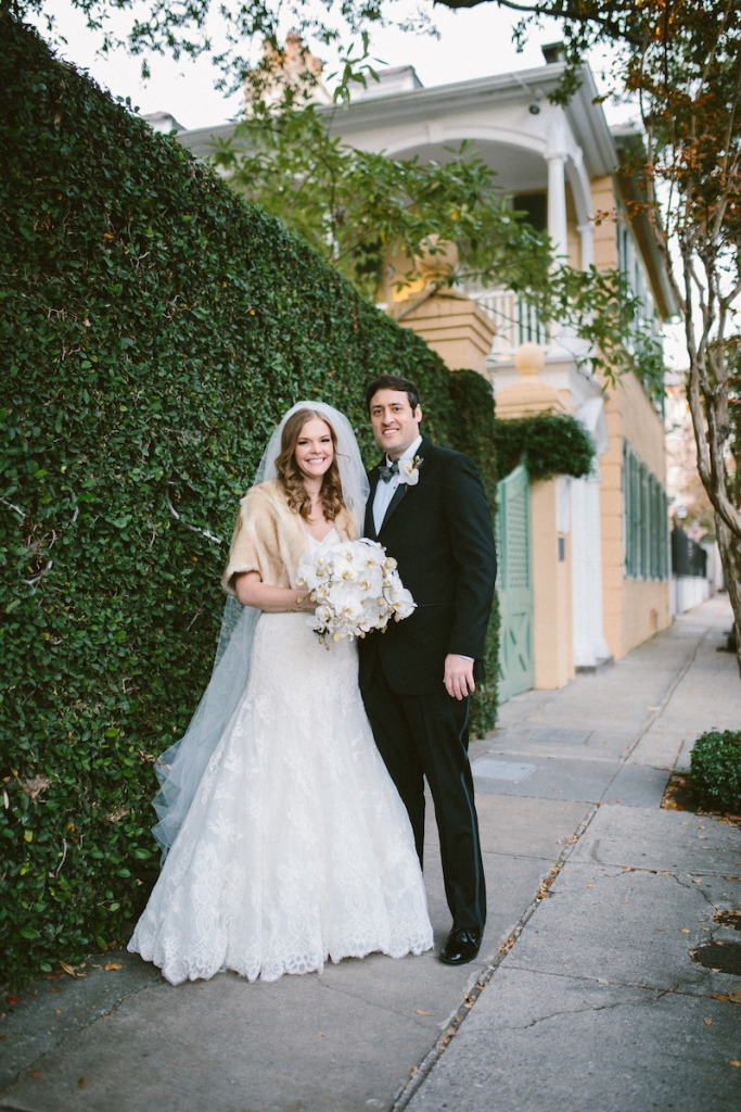 Wedding design by Fini Event Planning and Inventive Environments. Image by Clay Austin Photography at the First Baptist Church of Charleston.