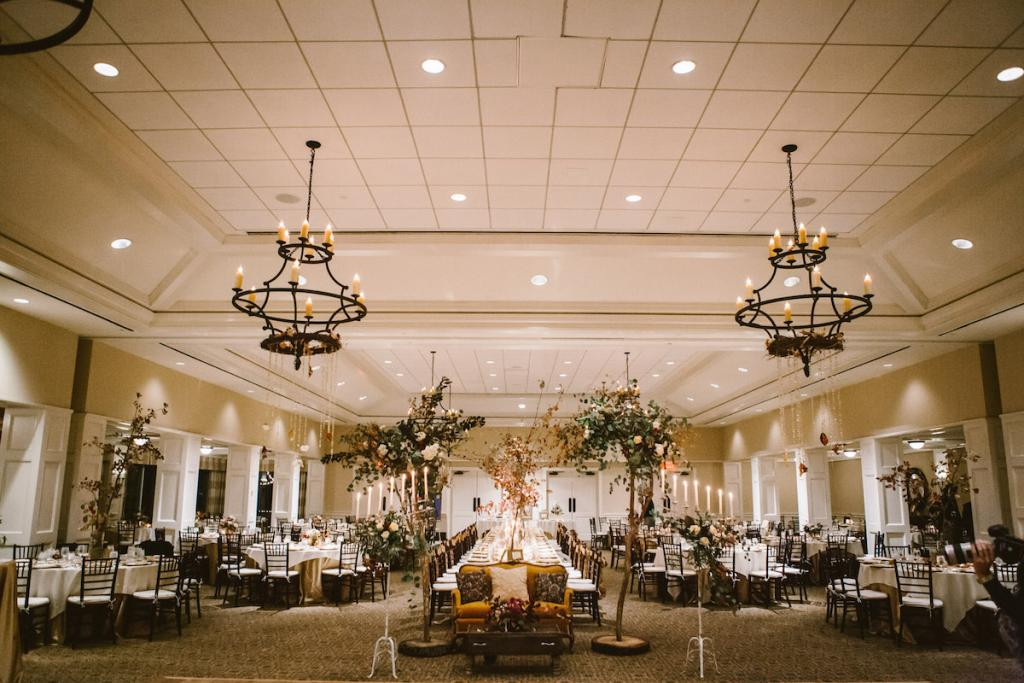 Wedding design and photograph by Mark Williams Studio at the Daniel Island Club.