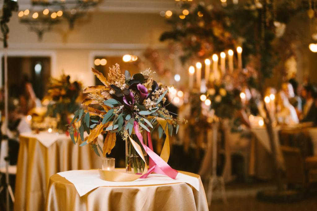 Wedding design, florals, and photograph by Mark Williams Studio at the Daniel Island Club.