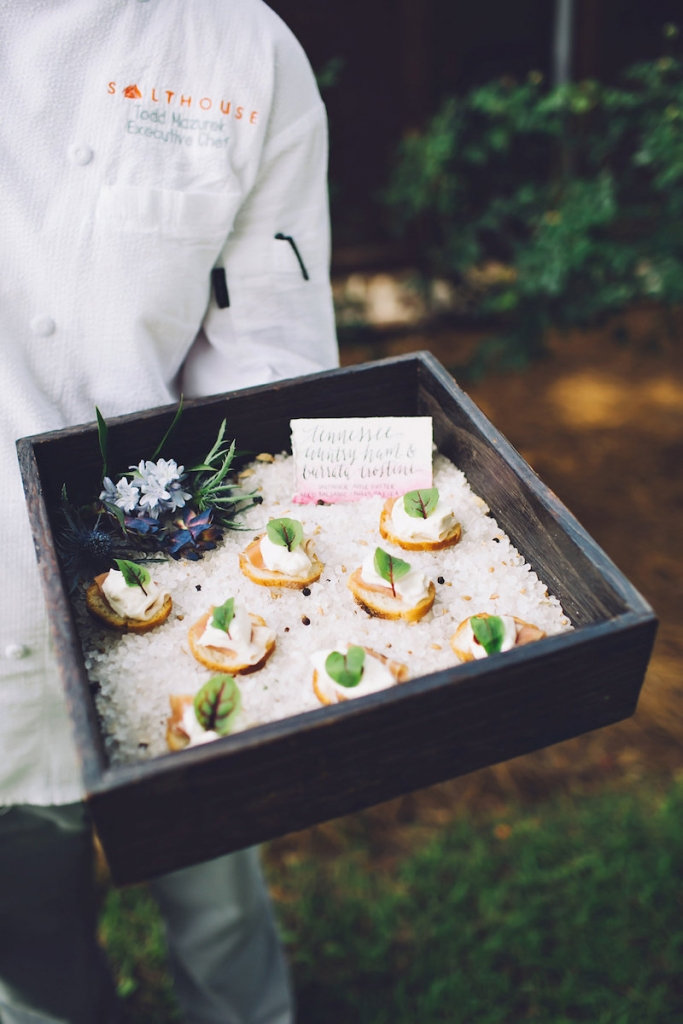 Catering by Salthouse Catering. Image by Monika Gauthier Photography & Design.