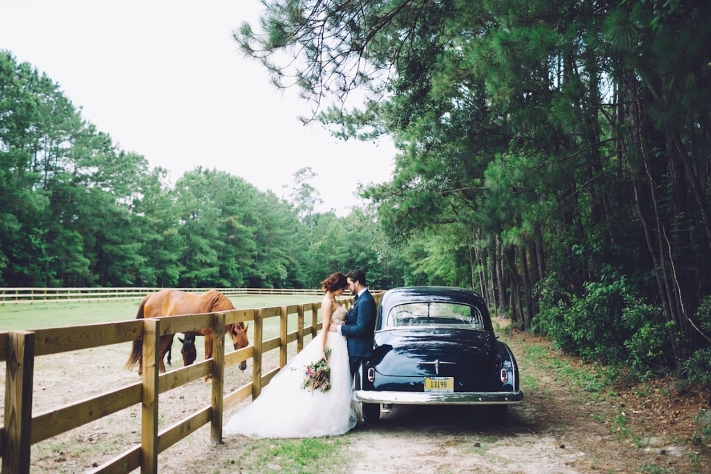 Transportation by Lowcountry Valet & Shuttle Co. Image by Monika Gauthier Photography & Design at The Stables at Boals Farm.