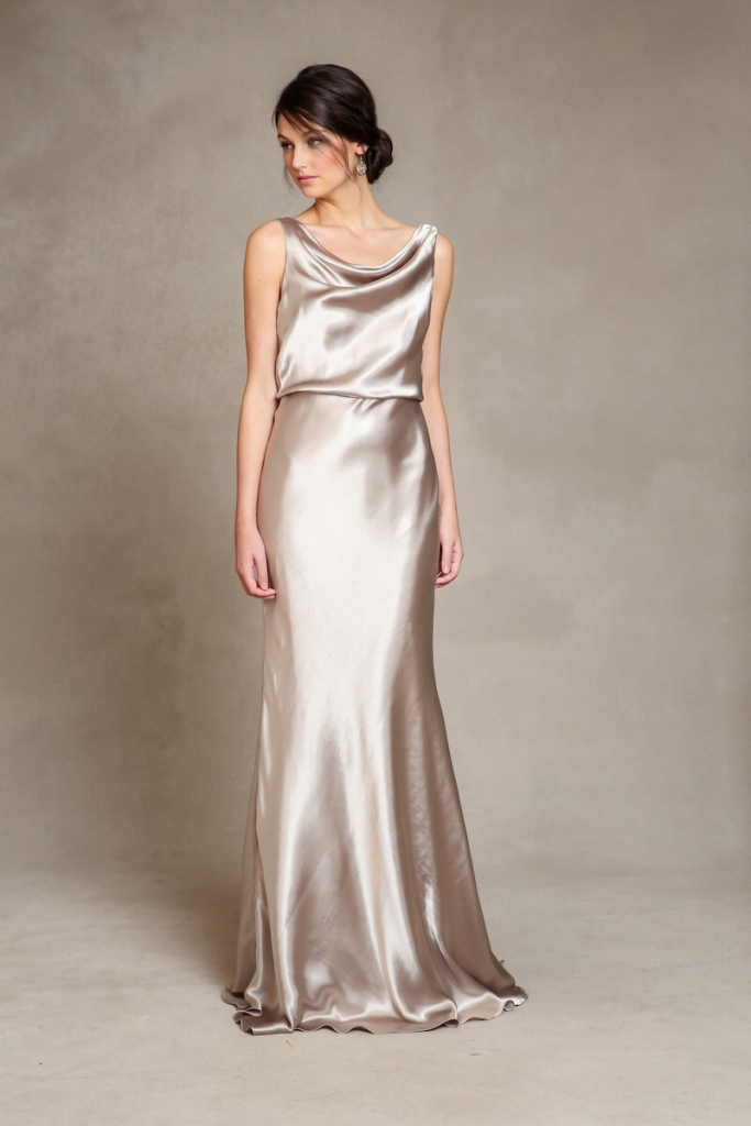 """GLAM: Jenny Yoo's """"Madelyn,"""" available through Bella  Bridesmaids and Fabulous Frocks"""