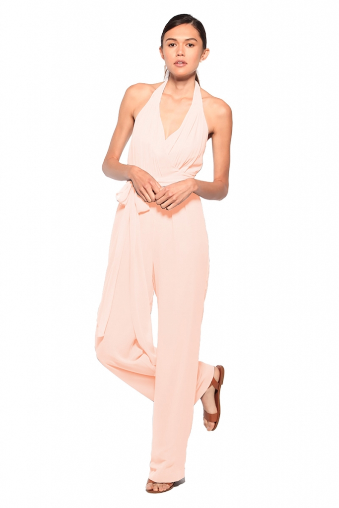 """GLAM: Joanna August's """"Scarlette"""" Jumpsuit, available through Bella  Bridesmaids"""