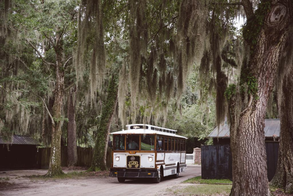Transportation by Lowcountry Valet & Shuttle Co. Image by amelia + dan photography.