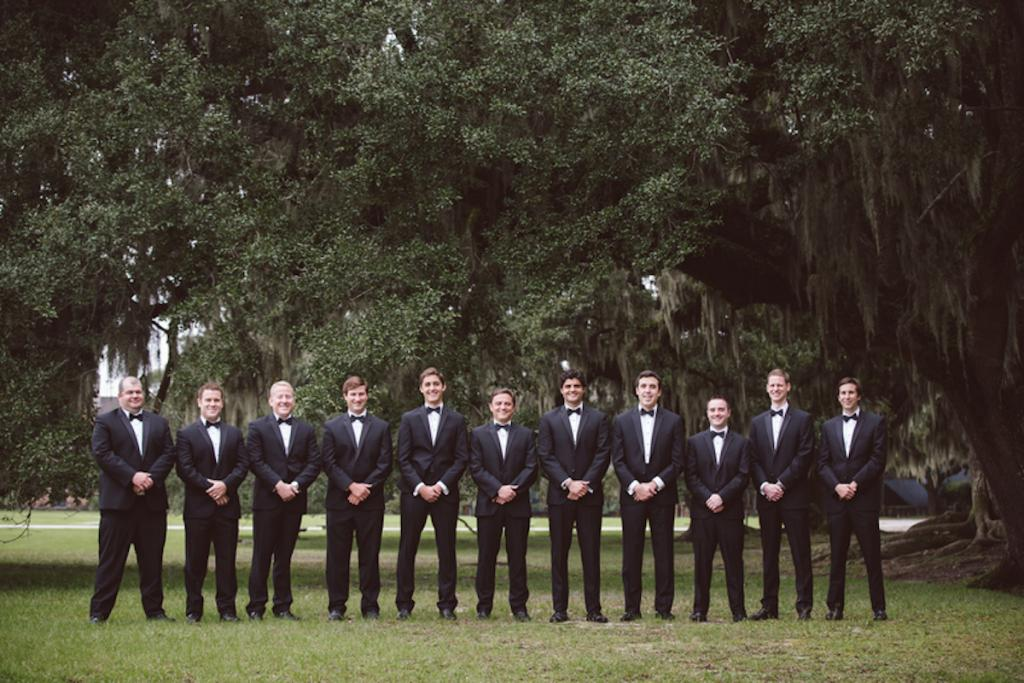 Menswear from Charleston Tuxedo. Image by amelia + dan photography at Middleton Place.