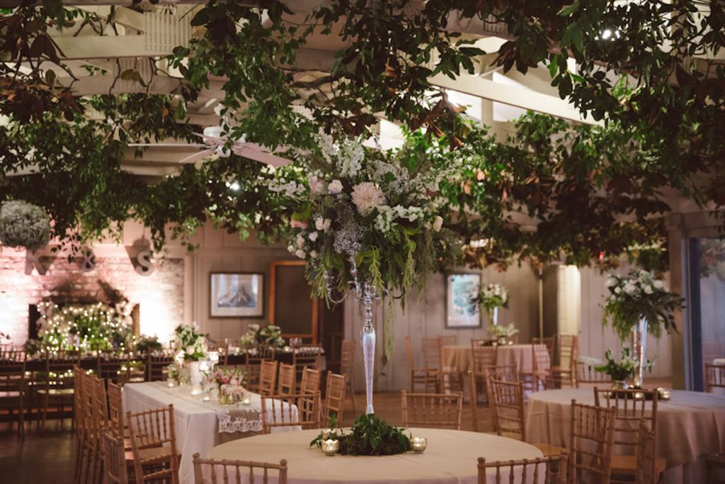 Florals and wedding design by Fox Events. Greens by Nancy's Exotic Plants. Image by amelia + dan photography.