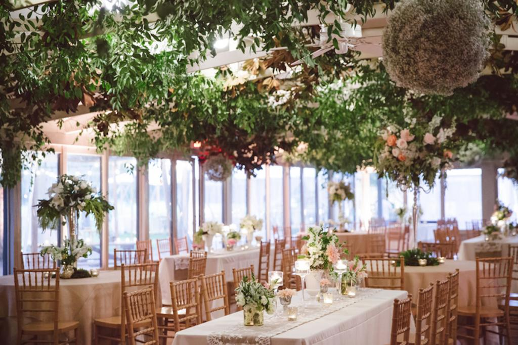 Tables from EventHaus. Chairs from Snyder Events. Florals and wedding design by Fox Events. Tent by Sperry Tents Southeast. Greens by Nancy's Exotic Plants. Image by amelia + dan photography.