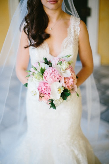 Florals by Tiger Lily Weddings. Beauty by Paper Dolls Wedding Hair & Makeup. Image by Clay Austin Photography.