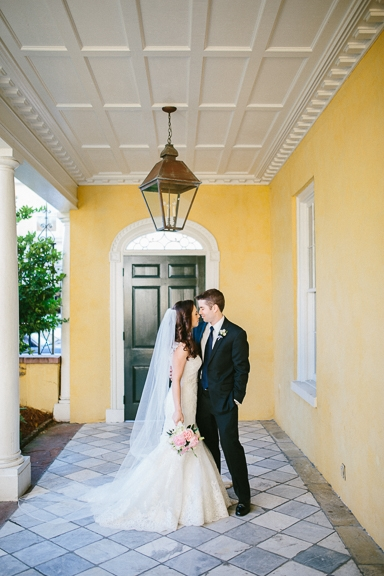 Florals by Tiger Lily Weddings. Image by Clay Austin Photography at the William Aiken House.