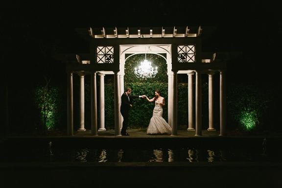 Lighting by IES Productions. Image by Clay Austin Photography at the William Aiken House.