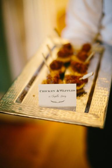Catering by Patrick Properties Hospitality Group. Image by Clay Austin Photography.