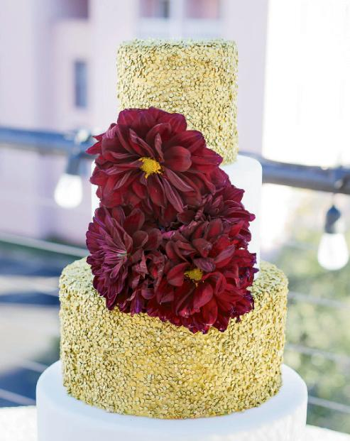 Cake by Brown Sugar Custom Cakes. Image by Aneris Photography.