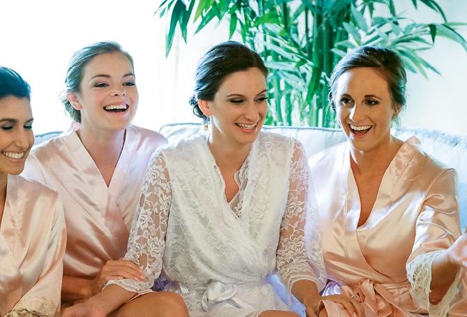 Chez Blanc's dressing robes (Photo courtesy of the vendor)