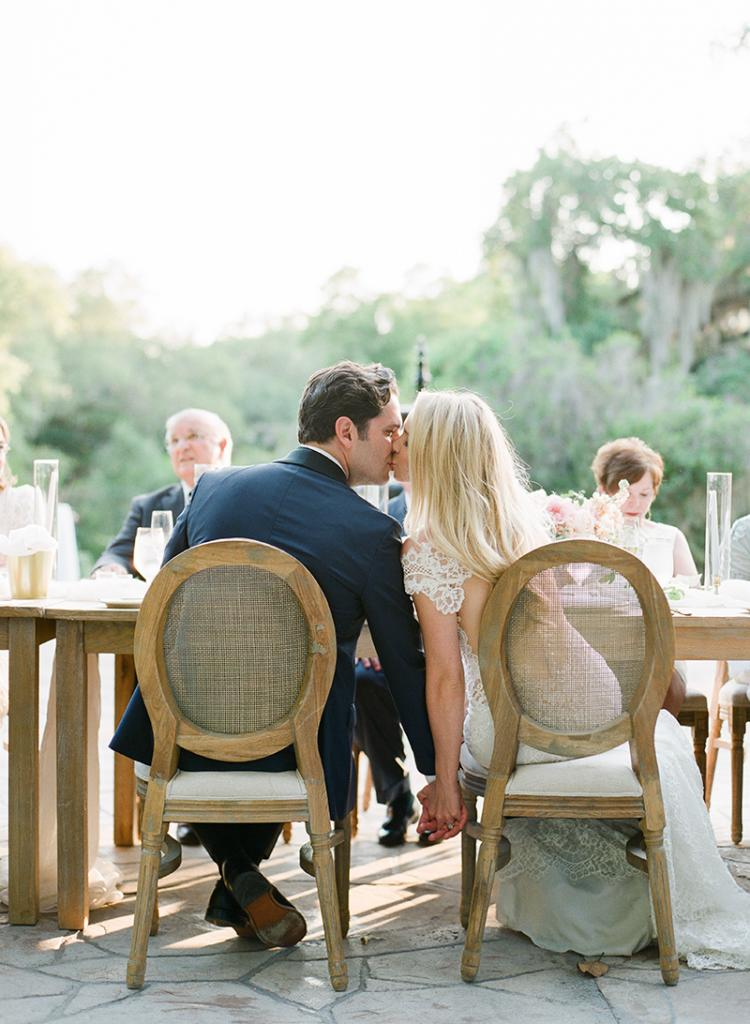 """Embrace stylish understatements. Turn the wedding trip into a family getaway. """"We had a beach day, shopped, did tours of Charleston, and ate at some incredible restaurants,"""" says Taylor."""