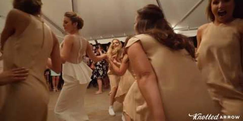 Embedded thumbnail for The Most Epic Bridesmaids Dance You've Ever Seen