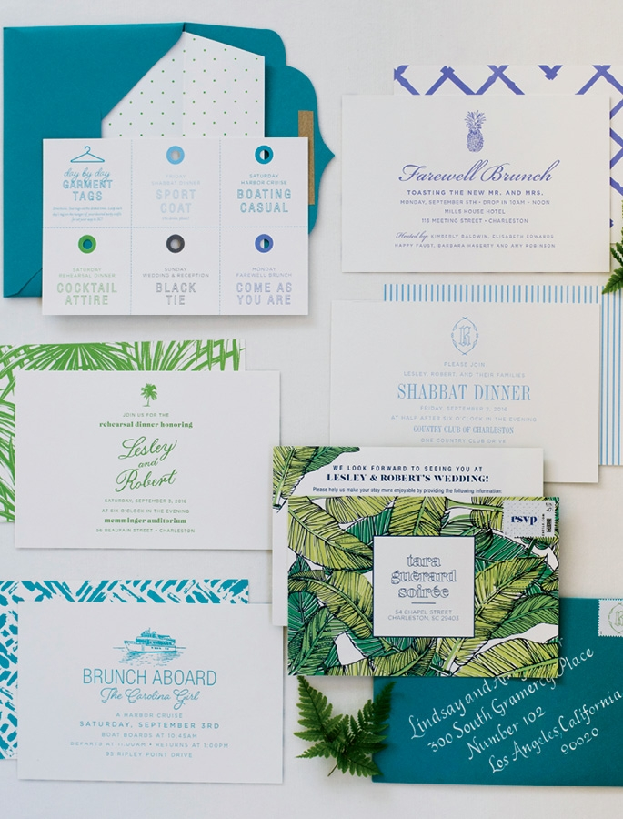 Stationery: Lettered Olive   <i> Photograph Liz Banfield</i>