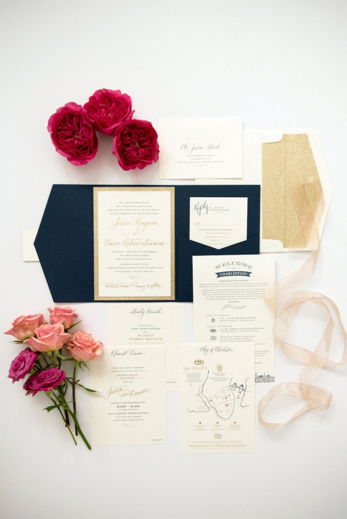 Stationery by Studio R. Photograph by Marni Rothschild Pictures.