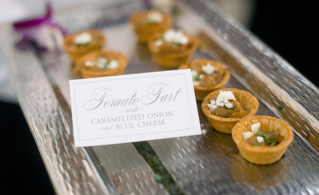 Catering by Patrick Properties Hospitality Group. Image by Timwill Photography.