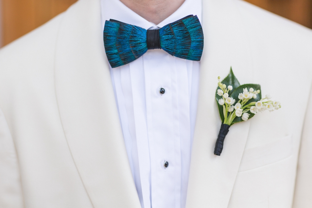 Menswear by Grady Ervin & Co. Florals by Gathering Floral + Event Design. Image by Elisabeth Millay Photography.