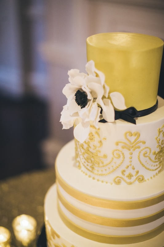 Cake by Wedding Cakes by Jim Smeal. Photograph by Hyer Images.