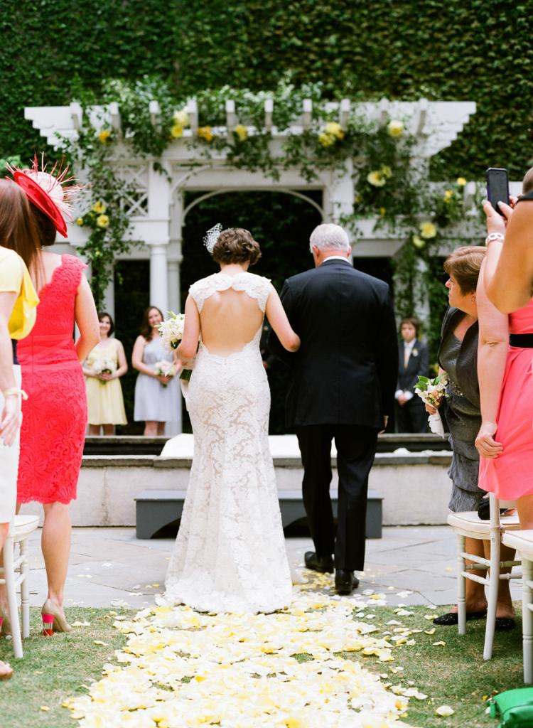 """REMEMBER THE MOMENTS: """"I read somewhere to consciously take mental snap shots throughout the wedding day, and I made sure to do so. I think this helped me remember a lot of little details that make your wedding day special,"""" says Liz."""