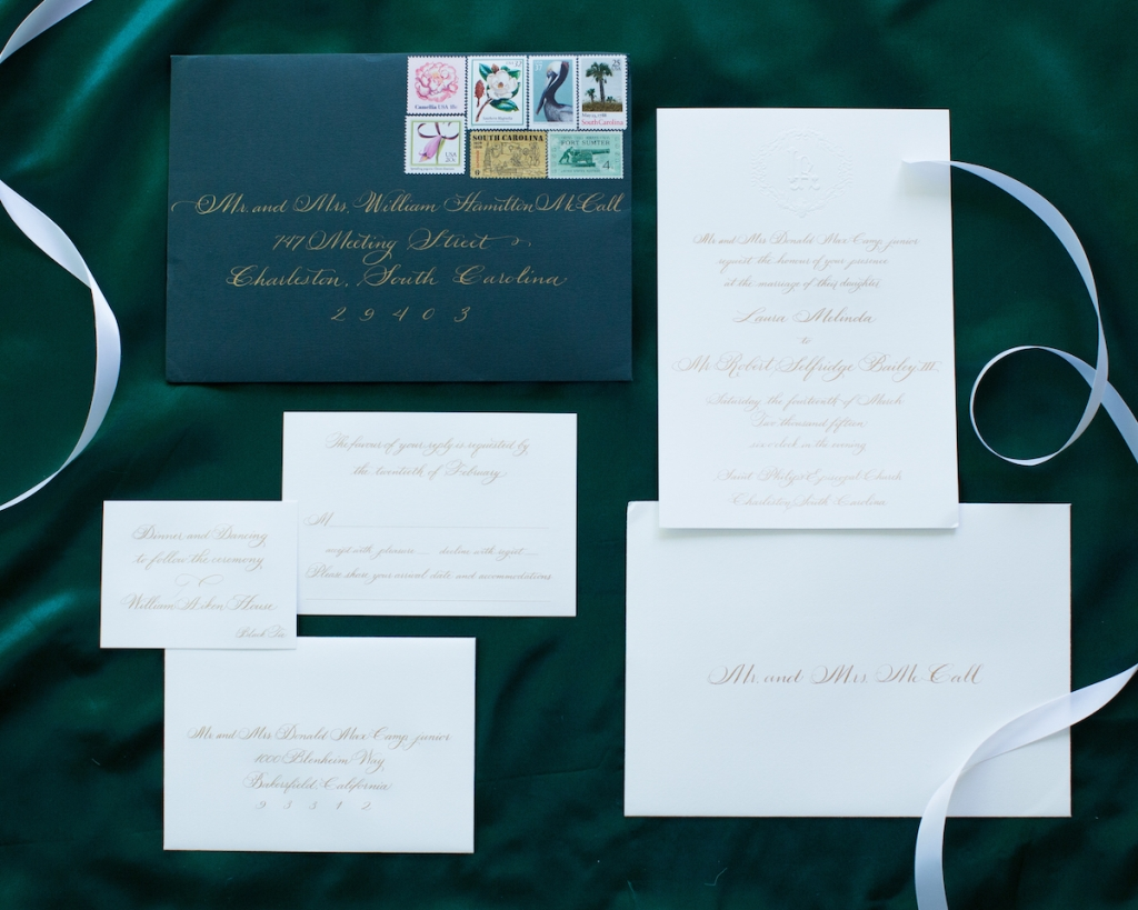 Stationery by Ceci New York. Image by Elisabeth Millay Photography.