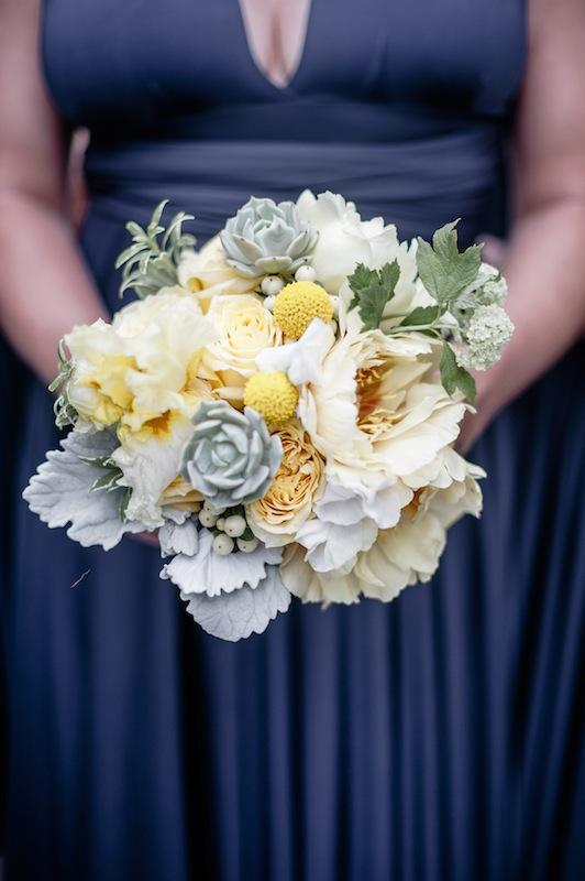 Bouquet by Out of the Garden. Image by Brandon Lata Photography.