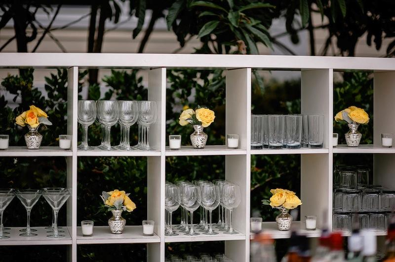 Bar Service by Squeeze On-Site. Image by Brandon Lata Photography.