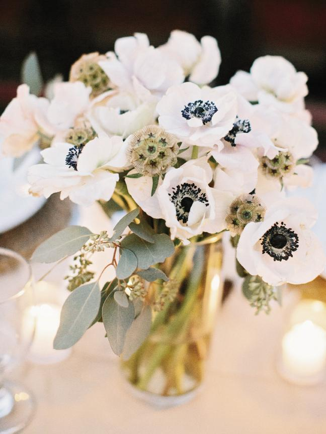Florals from FiftyFlowers.com. Image by Amy Arrington Photography.