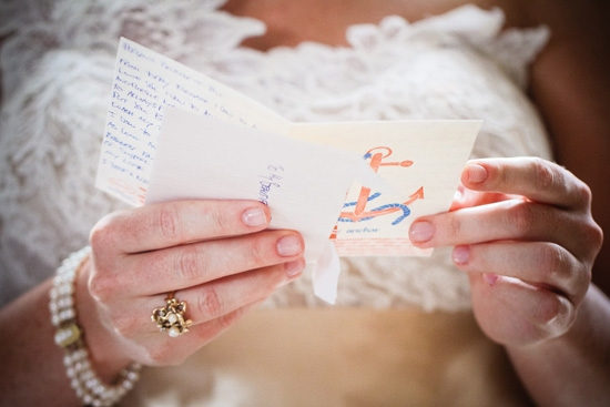 "ONE-ON-ONE: ""Even though I was surrounded by all the bridesmaids, I felt like it was just me and him getting ready to make the most important promises to each other that we ever would,"" says Carrie of reading Jonny's note to her."