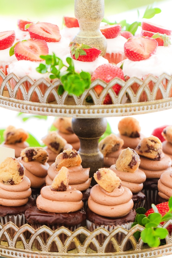 HAVE A BITE: Columbia-based bakery Sweet Reba's made cake pops and cupcakes—like red velvet, strawberry, triple chocolate cookie dough, triple chocolate peanut butter, and salted caramel chocolate ganache.