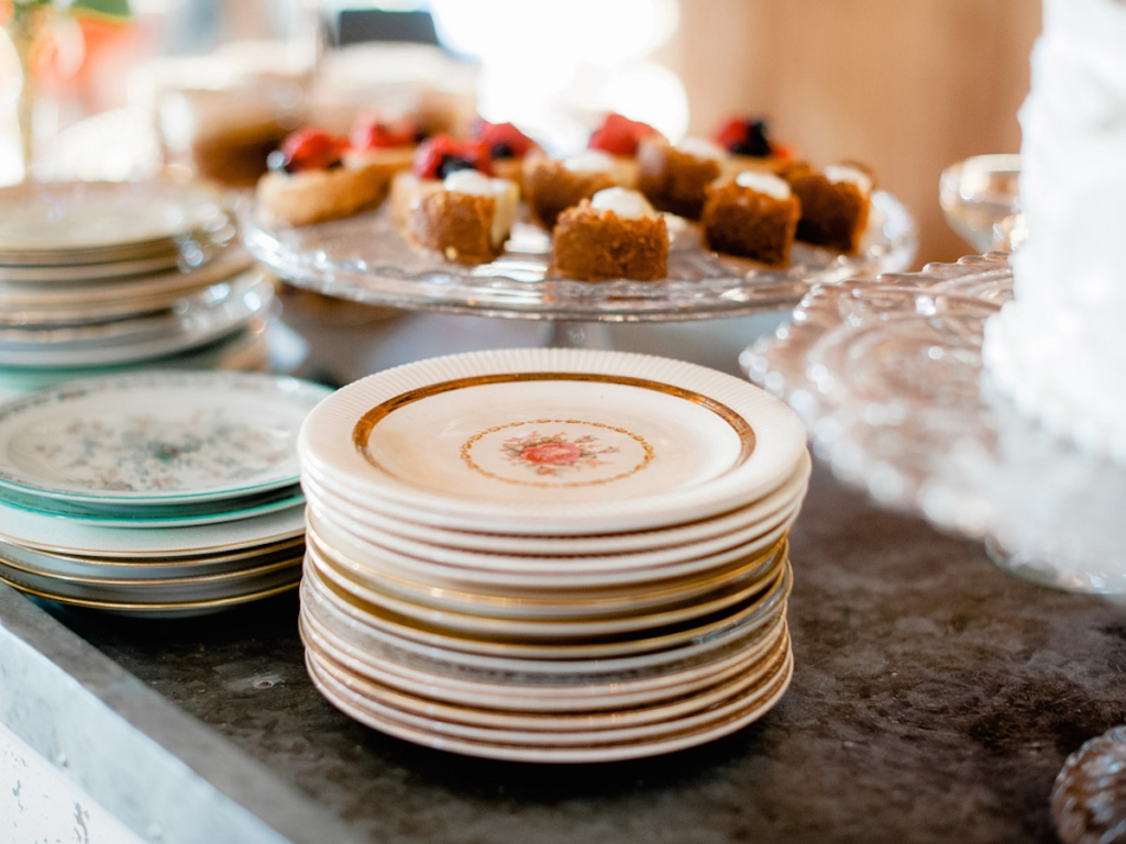 Sweets by WildFlour Pastry. Image by Brandon Lata Photography at Boone Hall Plantation and Cotton Dock.