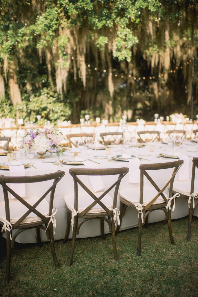 Wedding design by Sweetgrass Social Event + Design. Florals by Branch Design Studio. Rentals from EventWorks. Lighting by Technical Event Company. Image by Timwill Photography at the Legare Waring House.