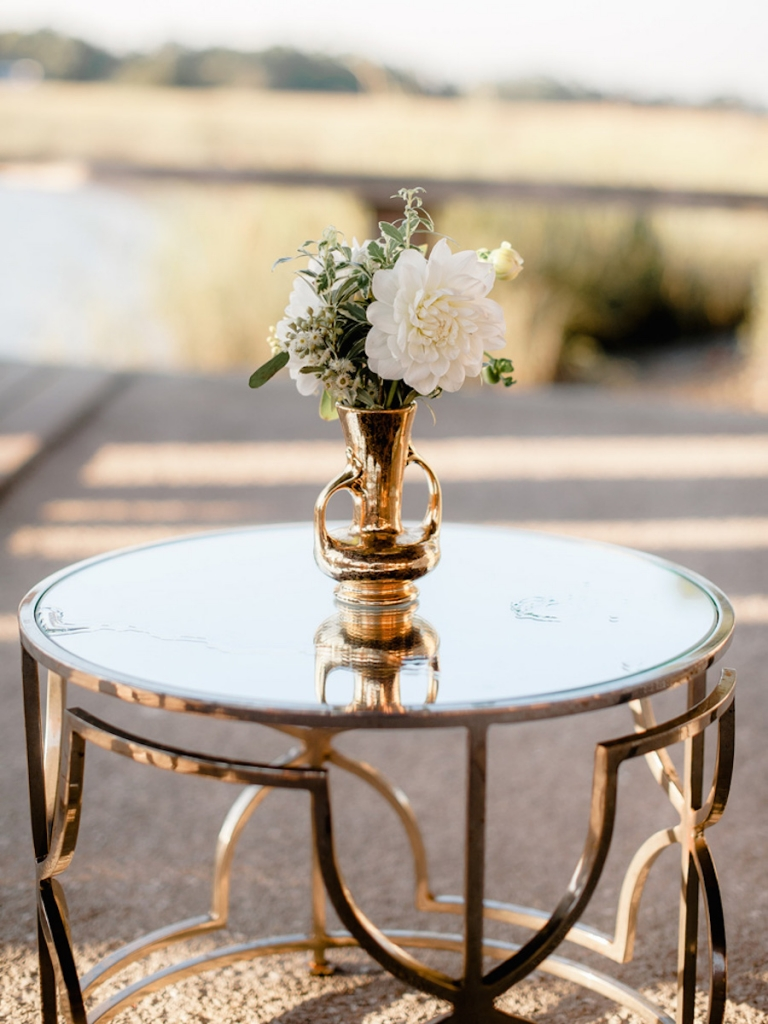 Wedding design and rentals by Ooh! Events. Florals by Out of the Garden. Image by Brandon Lata Photography.