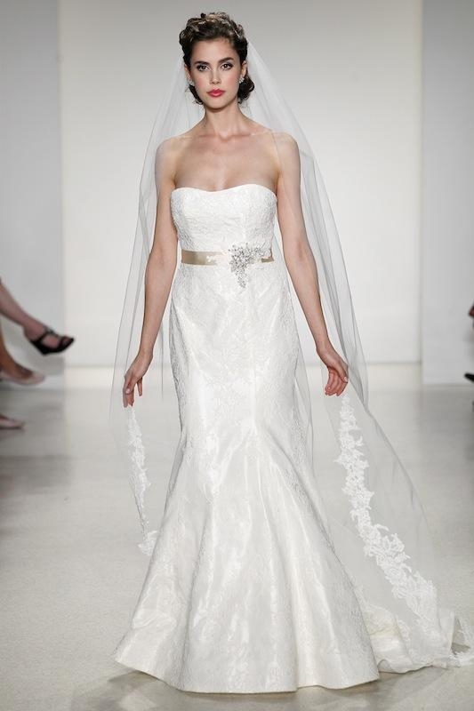 "Blue Willow Bride by Anne Barge's ""Keira."" Available through AnneBarge.com."