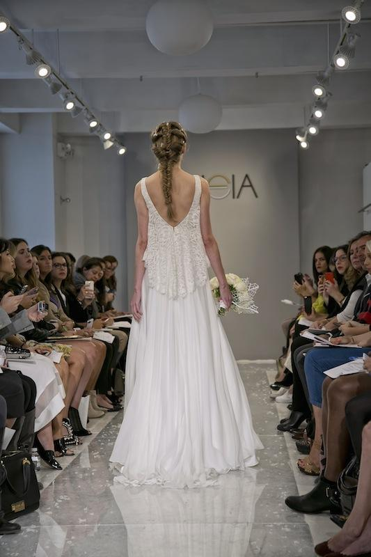 """THEIA White Collection's """"Naima."""" Available in Charleston through Gown Boutique of Charleston."""