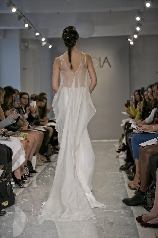 """THEIA White Collection's """"Suren."""" Available in Charleston through Gown Boutique of Charleston."""