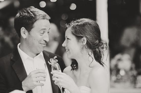"ATTITUDE OF GRATITUDE: ""We knew that this was a once in a lifetime event, and just really savored the day,"" Sarah Katherine says. ""We know we're blessed to have one another and to have this amazing wedding be the start of our lives together."""