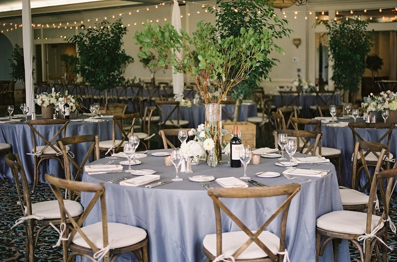 Wedding design and coordination by Ashley Rhodes Event Design. Catering and bar service by Dataw Island Club. Florals by EM Creative Floral. Rentals and lighting from Amazing Event Rentals. Image by Ashley Seawell Photography at Dataw Island Club.