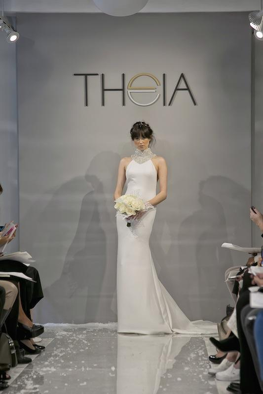 """THEIA White Collection's """"Arianna."""" Available in Charleston through Gown Boutique of Charleston."""