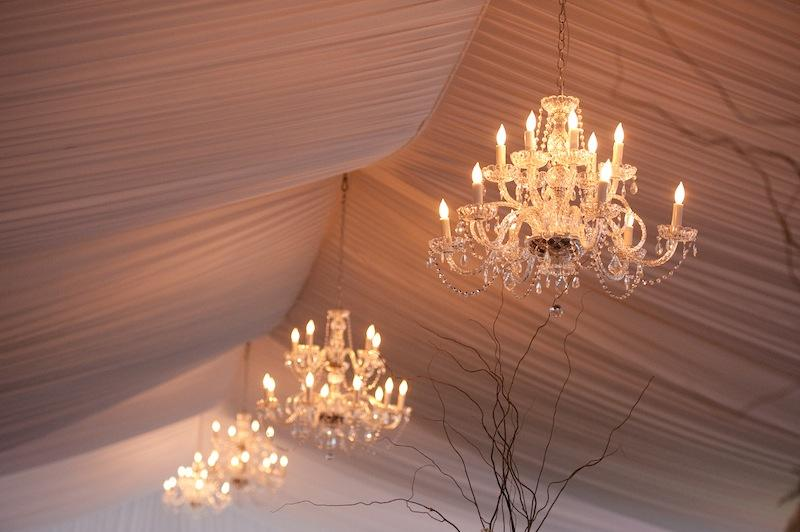 Lighting by Innovative Event Services. Wedding design and coordination by A. Caldwell Events. Image by Reese Moore Weddings at Lowndes Grove Plantation.