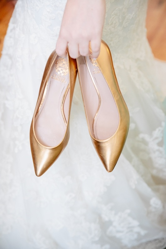 Shoes by Vince Camuto. Image by Dana Cubbage Weddings.