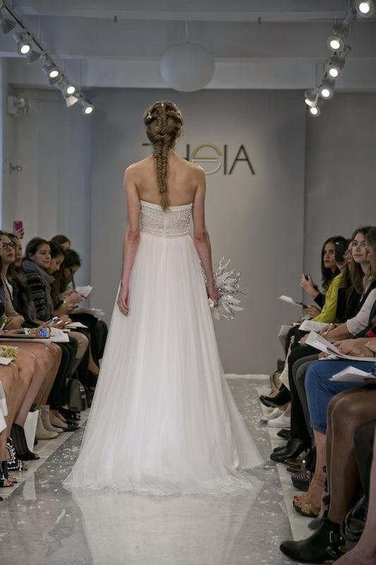 """THEIA White Collection's """"Kerry."""" Available in Charleston through Gown Boutique of Charleston."""