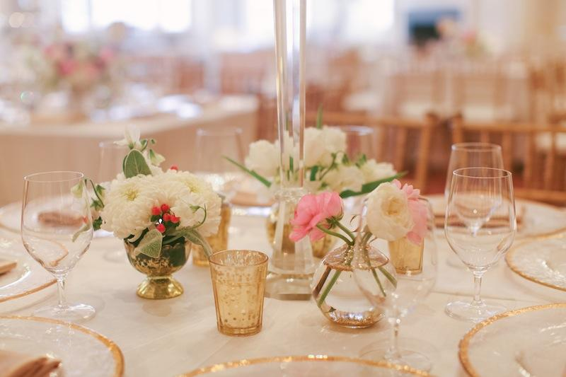 Florals by Branch Design Studio. Wedding design and coordination by Sage Innovations. Linens by Connie Duglin. Image by Juliet Elizabeth Photography.
