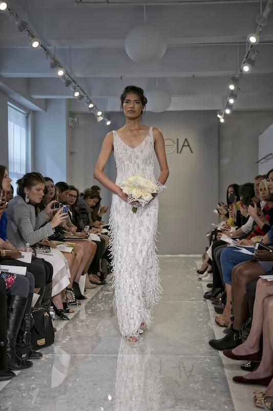 "THEIA White Collection's ""Anastas."" Available in Charleston through Gown Boutique of Charleston."