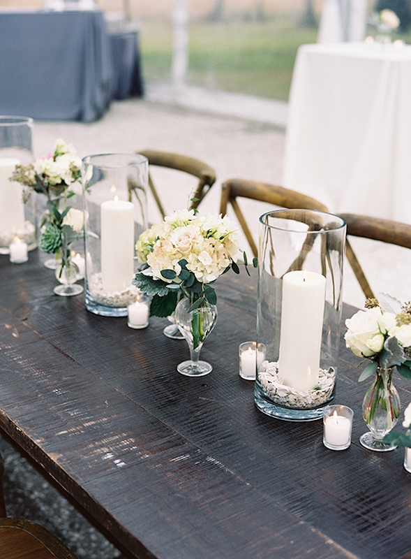 Wedding design and florals by A Charleston Bride. Image by Virgil Bunao Photography at Lowndes Grove Plantation.