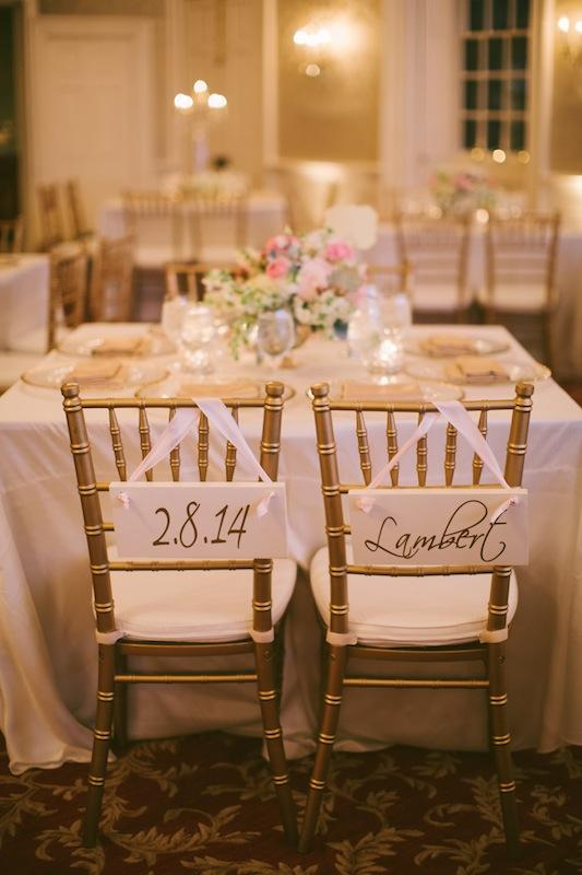 Rentals from EventHaus. Wedding design and coordination by Sage Innovations. Image by Juliet Elizabeth Photography at McCrady's Restaurant.