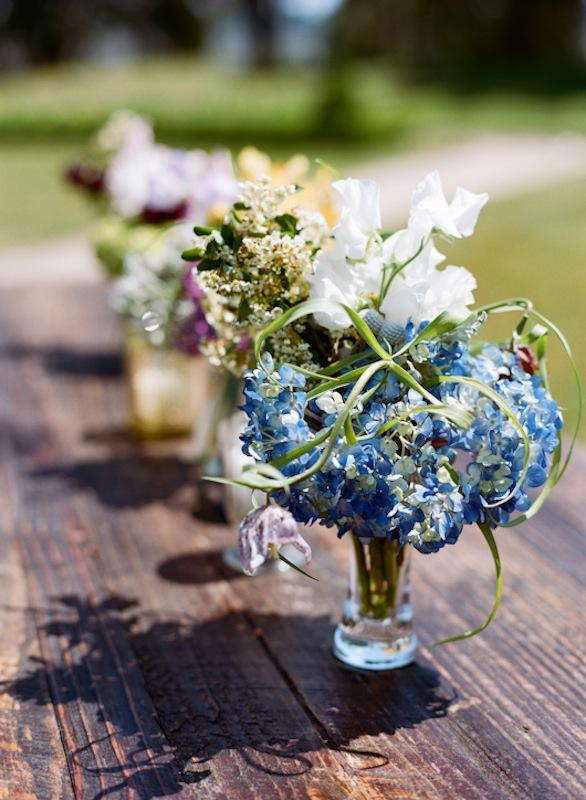 Florals by Out of the Garden. Rentals by Ooh! Events. Photograph by Marni Rothschild Pictures.