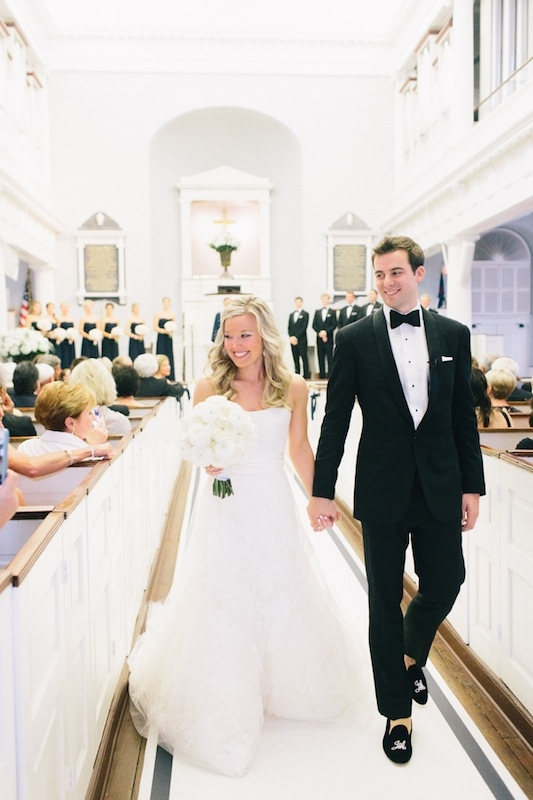 Kelly and James met in New York City through her best friend, a Lehigh pal of James' who later served as their maid of honor.