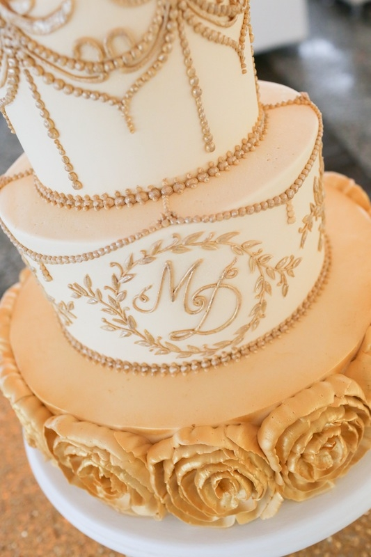 Cake by Wedding Cakes by Jim Smeal. Image by The Connellys.